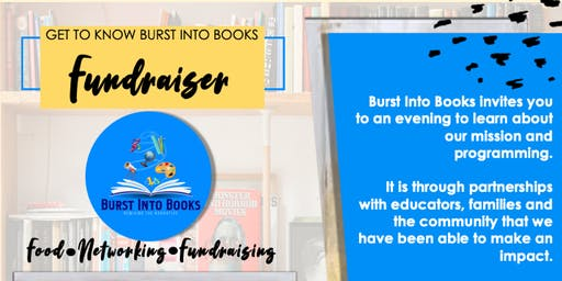 Get to Know Burst Into Books Fundraiser