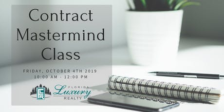 Contract Mastermind Class tickets