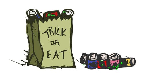 ISSAC Goes to Trick or Eat