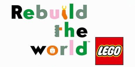 Rebuild the World...with LEGO bricks workshop - Southowram tickets