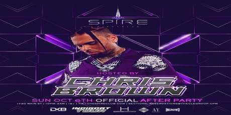Chris Brown Indigo After Party at Spire Houston tickets