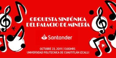 Concierto Orquesta Sinfónica del Palacio de Minería UPCI