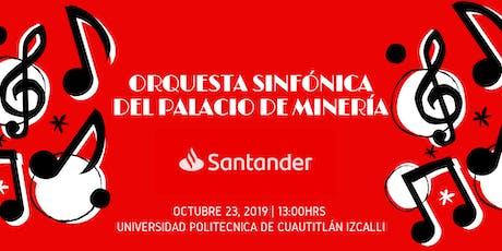 Concierto Orquesta Sinfónica del Palacio de Minería UPCI tickets
