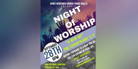 Young Adult Night of Worship tickets