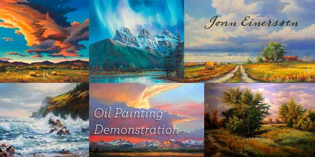 Harmonious Landscape • Oil Painting Demonstration by Jonn Einerssen tickets