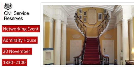Civil Service Reserves Networking Event tickets