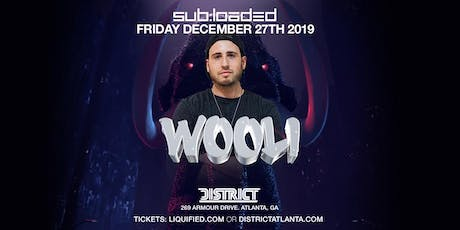WOOLI at District Atlanta tickets