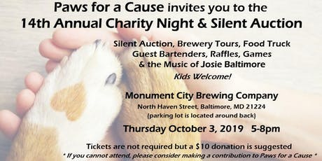 14th Annual Charity Night & Silent Auction tickets