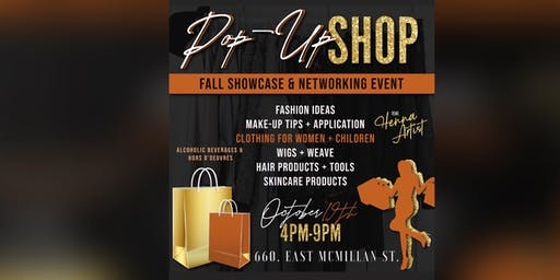 POP- UP SHOP FALL SHOWCASE AND NETWORKING EVENT