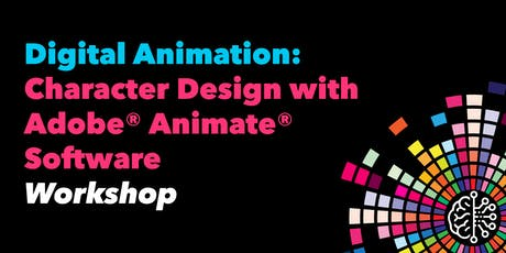 Digital Animation: Character Design with Adobe® Animate® Software tickets