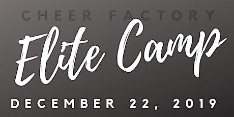 Cheer Factory Elite Camp tickets