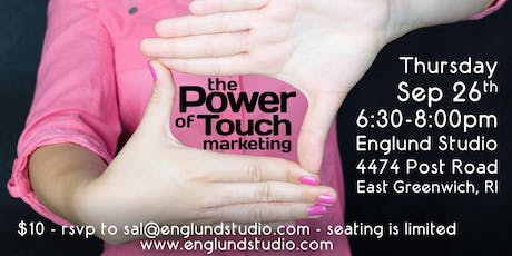 Social Media Class: the Power of Touch Marketing - September 2019 tickets