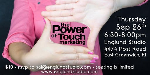 Social Media Class: the Power of Touch Marketing - September 2019
