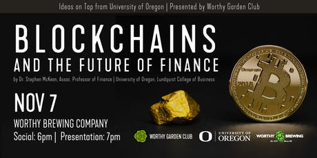 Blockchains and the Future of Finance tickets