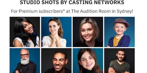 Casting Networks Headshot Sessions September 24 - Sydney