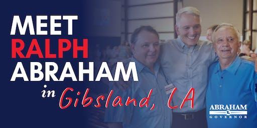 Ralph Abraham Gibsland Meet and Greet