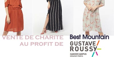 Vente de Charité Best Mountain au profit de Gustave Roussy