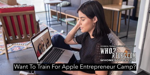 Train and Prepare for Apple Entrepreneur Camp: Apply by November 15, 2019