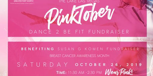 PinkTober DANCE 2 BE FIT FUNDRAISER