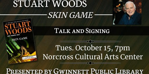 Stuart Woods Talk and Signing for Skin Game