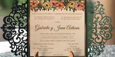 Boda de Gaby y Juan Antonio