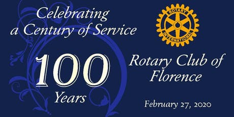 Florence SC Rotary Club Centennial Celebration tickets