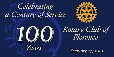 Florence SC Rotary Club Centennial Celebration tickets