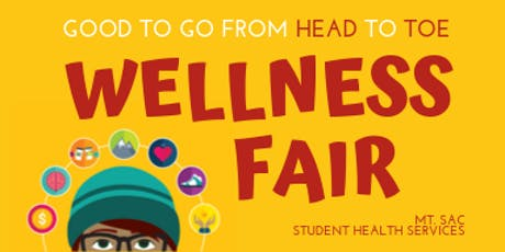 Good To Go From Head To Toe: Wellness Fair 2019 tickets