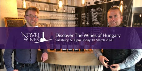 Discover The Wines of Hungary, A Novel Wines Tasting, Salisbury tickets