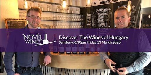Discover The Wines of Hungary, A Novel Wines Tasting, Salisbury