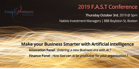 """Make Your Business Smarter with Artificial Intelligence"" powered by FACCNE FAST Conference tickets"