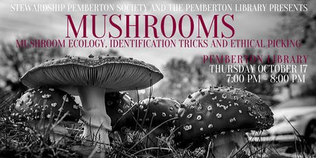 Mushrooms: mushroom ecology, identification tricks and ethical picking tickets