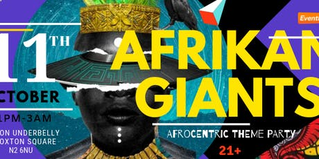 Afrikan Giants tickets