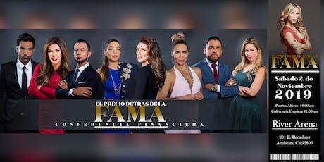 EL PRECIO DETRAS DE LA FAMA tickets