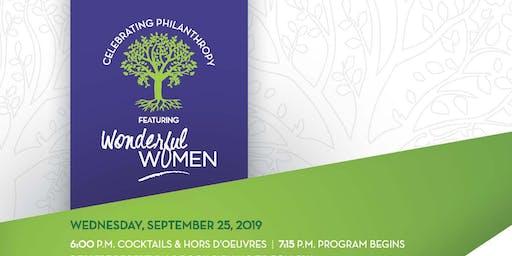 Celebrating Philanthropy featuring Wonderful Women