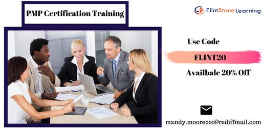 PMP Bootcamp training in Great Falls, MT