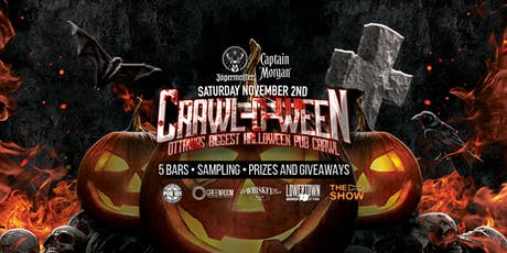 Crawl-O-Ween 2019 Ottawa's Biggest Halloween Pub Crawl tickets