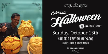 Pumpkin Carving Class at The Lincoln Eatery tickets