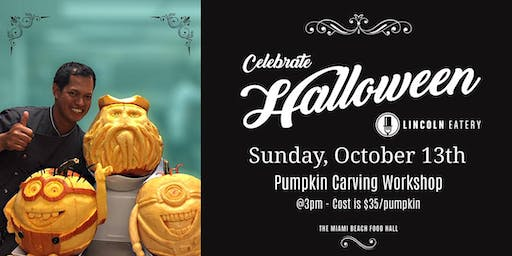 Pumpkin Carving Class at The Lincoln Eatery