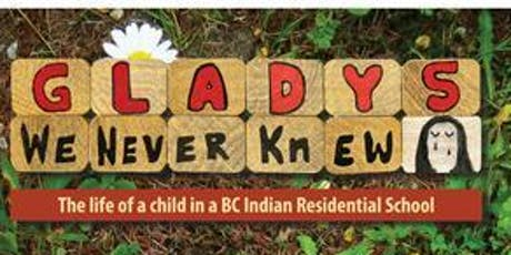 Aboriginal Education Workshop Series, Session 3: Glady We Never Knew tickets