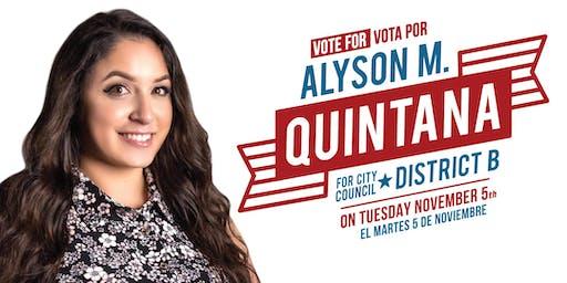 Alyson Quintana Meet & Greet Fundraiser