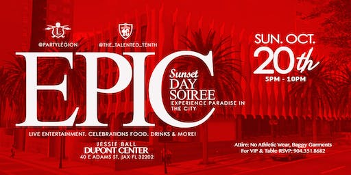 The Epic Sunset Day Soiree