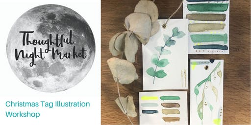 Christmas Tag Illustration Workshop