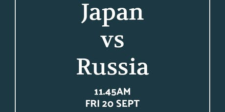 Rugby World Cup Japan vs Russia tickets