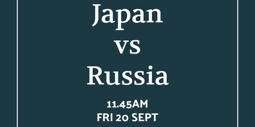 Rugby World Cup Japan vs Russia