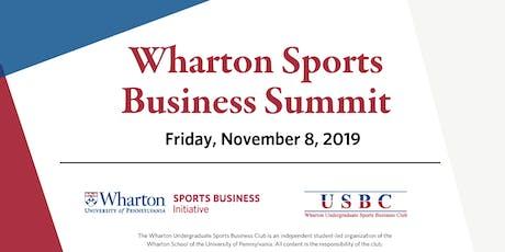 The Wharton Sports Business Summit tickets