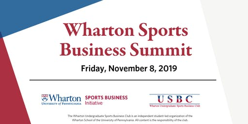 The Wharton Sports Business Summit
