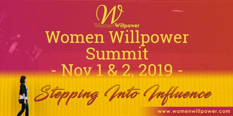 Women Willpower Summit Nov1 (8-3p) and Nov2 (9-noon) tickets