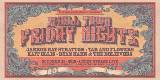 SMALL TOWN FRIDAY NIGHTS - Tom Petty Tribute Night by Lucky Strike Live