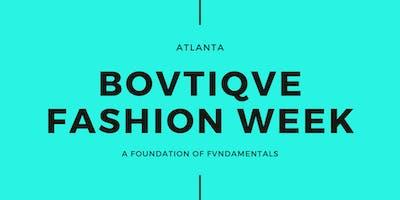 Bovtiqve Fashion Week